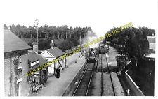 Daggons Road Railway Station Photo. Verwood - Fordingbridge. West Moors Line (5)
