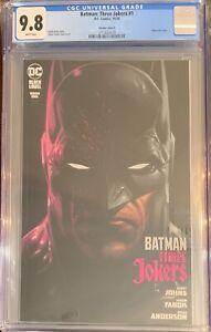 Batman Three Jokers #1 CGC 9.8 Variant Cover A Edition Fabok Johns