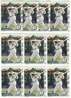 x100 RAMON LAUREANO 2019 Bowman Baseball Rookie Card RC Logo lot/set Oakland A's