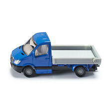 SIKU 1424 Mercedes Sprinter Transporter Plataforma Azul / PLATA (blister)