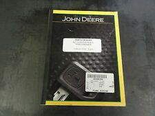 John Deere No. 5 Caster Wheel Power Mower Parts Catalog Pc466