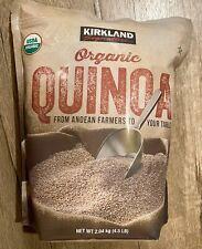 KIRKLAND Signature USDA Organic Quinoa 4.5 lbs *Kosher* with Fiber, vitamins B E