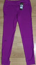 Under Armour Compression Pants Youth XL Purple Heat Gear