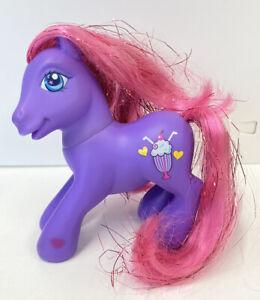My Little Pony FIZZY POP Shimmer Pony 2004 Glitter Hair 12cm Pre Owned G3