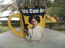 Star Wars Princess Leia WE CAN DO IT Coffee Mug Cup 14 oz May The Force ...