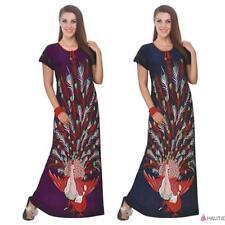 Full Length Polyester Multi-Coloured Nightwear for Women
