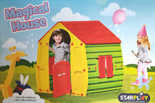 Kinder Spielhaus Magical House 90 x 109 x 102 cm - BUNT Gelb / Grün / Rot