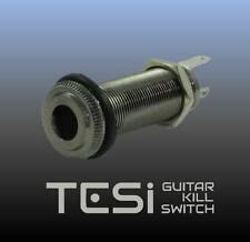 Tesi Premium Stereo Output Barrel Jack - Cosmo Black