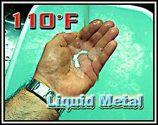 6 Element Liquid Metal m.p.110°F/42°C 100 grams - Melts Like Magic for Pros