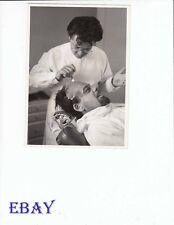 Perc Westmore make-up man Paul Muni VINTAGE Pho Life Of Emile Zola candid on set