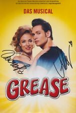 VERONIKA RIEDL und ALEX 1 Grease Foto 20x30 orignal signiert IN PERSON Autogramm
