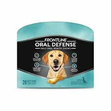 Frontline Oral Defense Daily Dental Chews for Large Dogs, 28 Ct