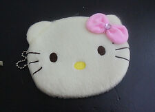 New HelloKitty Plush Coin Purse Wallet Pouch Case aa-571P1  Ivoy