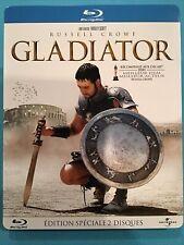 Russell Crowe in Gladiator Blu Ray 2 Disk Steelbook Italy Oop (Se)
