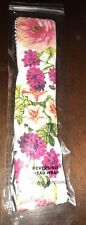 BATH & BODY WORKS REVERSIBLE FLORAL/STRIPED SPA HEAD WRAP HAIR BAND NEW