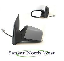Ford Focus Passenger Electric Heated Door Mirror Power Fold In Primer N/S LEFT
