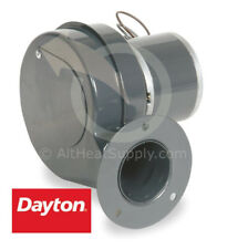 Dayton 1TDN7 PSC Draft Fan Blower 115 Volt 1C180, 4C440, 3036 RPM, 50 CFM