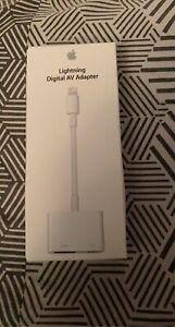 Lightning Digital AV Adaptateur iPhone/HDMI