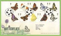 G.B. 2013 Butterflies set on Royal Mail on First Day Cover, Wareham Dorset