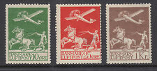 Denmark Sc C1, C3, C5 MLH. 1925-1929 First Air Mails, 3 diff with small faults