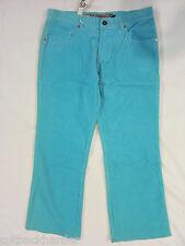 VOLCOM Ladies Girls Juniors Cord Corduroy Pants Aqua Blue SIZE 9 NEW