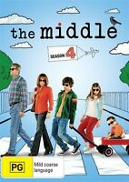 The Middle : Season 4 (DVD, 2014, 3-Disc Set) New, ExRetail Stock (D148)