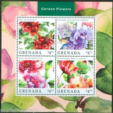 GRENADA  2014 GARDEN FLOWERS  SHEET I  MINT NH