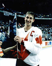 Wayne Gretzky 1987 Canada Cup Trophy, 8x10 Color Photo