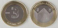 3 Euro Slowenien 2011 20 Jahre Unabhängigkeit unz