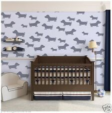 Wall Stencils Puppy dogs animal Stencil for Walls Kids Room and furniture