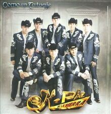 FREE US SHIP. on ANY 2 CDs! ~Used,VeryGood CD K-Paz De La Sierra: Como Un Tatuaj