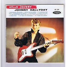 25 CM CD CLUB DIAL HALLYDAY HELLO JOHNNY (REEDITION 1994)