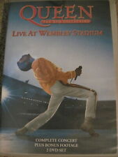 QUEEN LIVE AT WEMBLEY STADIUM 2 DVD COLLECTION