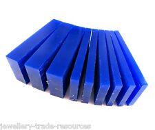 CERA blu gioielli blocchi cera persa di colata 5mm - 15mm BARRE