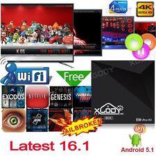 XGODY New 16.1 Media Player Network Streamer MINI MX Android5.1 Quad Core TV BOX