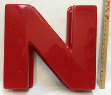 Outdoor Red Letters For Business Signs N Amp O 195 Raised Or Rounded