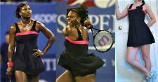 Excellent NIKE Dri-FIT Womens Tennis Dress XS skirt *PRETTY* black