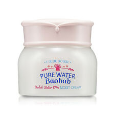 ETUDE HOUSE Pure Water Baobab Cream, Baobab Water 17% Moist Cream (USA Seller)