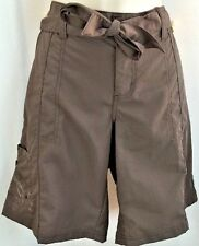 WOMENS COLUMBIA CAMPING HIKING FISHING SHORTS SIZE 12 BROWN NWT $45