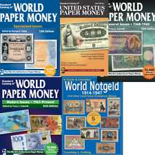 Top! Complete! George Cuhaj Catalogs - World Paper Money