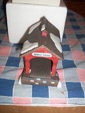 Dept 56 Heritage Village Red Covered Bridge #5987-0 Box