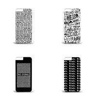 Blah L74  Hard plastic phone case