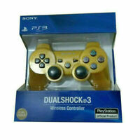 Gold PS3 PlayStation 3 DualShock 3 Wireless SixAxis Controller GamePad