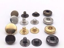 Metal S Spring Snap Rivet Button Press Stud Tich Fastener Popper Leather Clothes