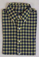 Ralph Lauren Polo Pony Button Down Long Sleeves Tartan Plaid Classic Dress Shirt