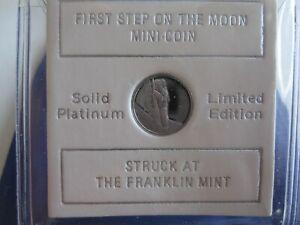 APOLLO 11 SOLID PLATINUM MINI-COIN