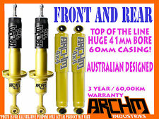 MITSUBISHI TRITON ML/MN 06-ON F & R 41mm BORE FOAM CELL ARCHM4x4 SHOCK ABSORBER