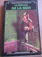 Jean-Pierre Andrevon: Le reflux de la nuit/ Le Masque Fantastique N°27, 1980