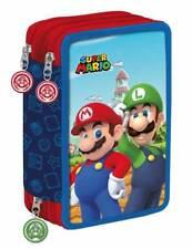 Astuccio completo 3 zip Super Mario