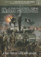 Iron Maiden A Matter of Life and Death Guitar Tab Sheet Music Book Chords Lyrics